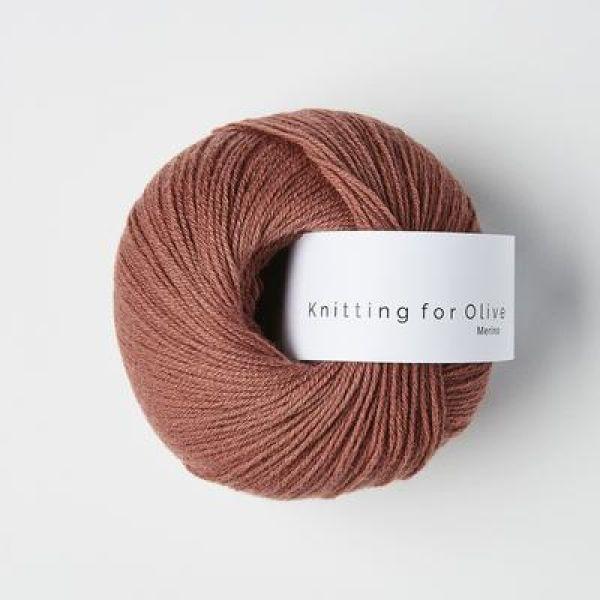 Blommerosa  - Merino - Knitting for Olive