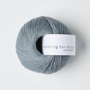 Elefantblå - Cotton Merino - Knitting for Olive