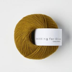 Mørk Okker - Cotton Merino - Knitting for Olive
