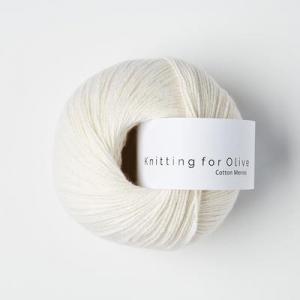 Naturhvid - Cotton Merino - Knitting for Olive