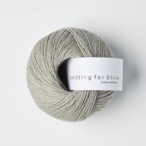 Lammegrå - Cotton Merino - Knitting for Olive