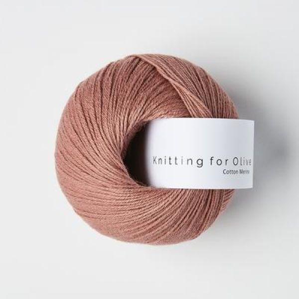KFO  Cotton Merino - Terracotta Rosa / Terracotta Rose