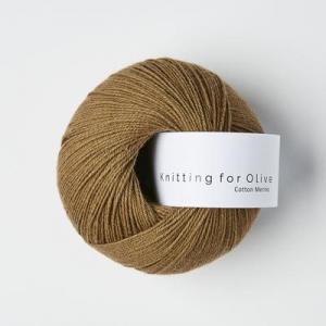 Nøddebrun - Cotton Merino - Knitting for Olive