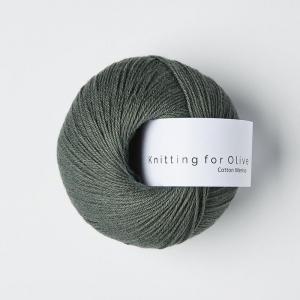 Mørk Søgrøn - Cotton Merino - Knitting for Olive
