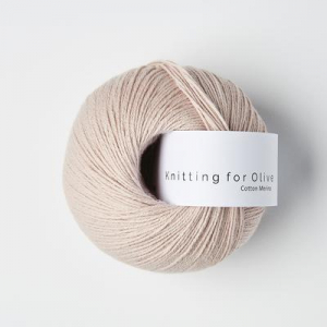 Pudderrosa - Cotton Merino - Knitting for Olive