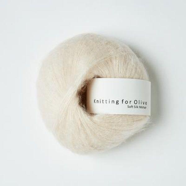 Sky  - Soft Silk Mohair - Knitting for Olive