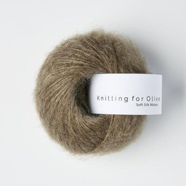 Hasselnød - Soft Silk Mohair - Knitting for Olive