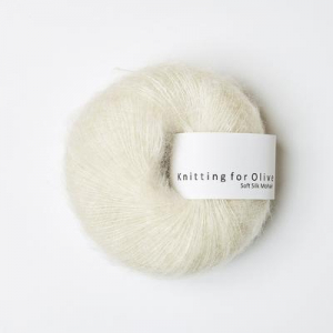Råhvid - Soft Silk Mohair - Knitting for Olive