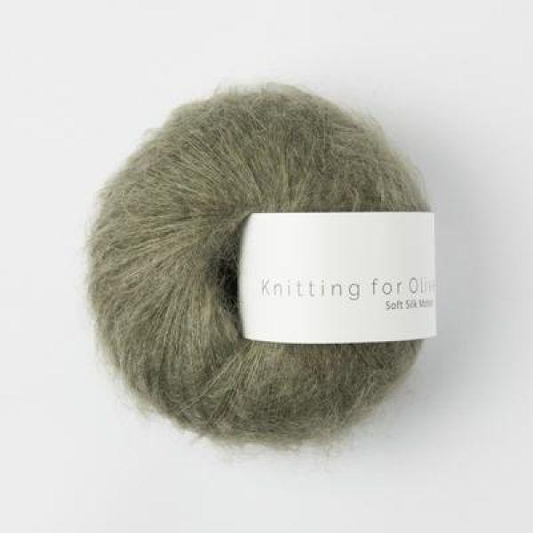 Støvet Oliven - Soft Silk Mohair - Knitting for Olive