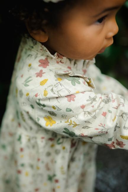 Hust & Claire  Didia kjole med blomsterprint
