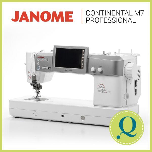 Janome Continental M7