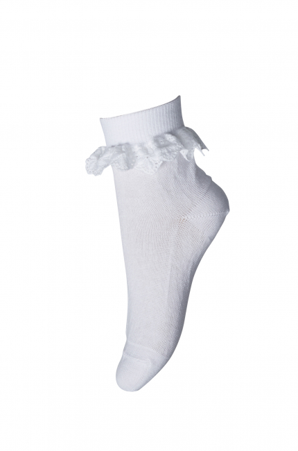 Mp Filippa Sokker med blondekant