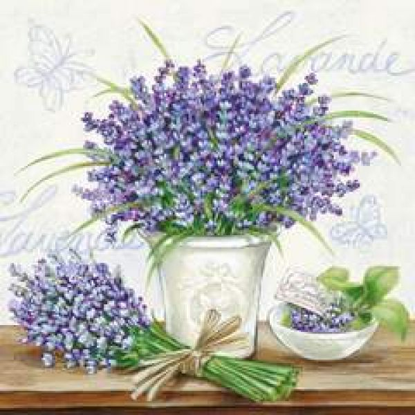 Lavender Scene Cream lunsj