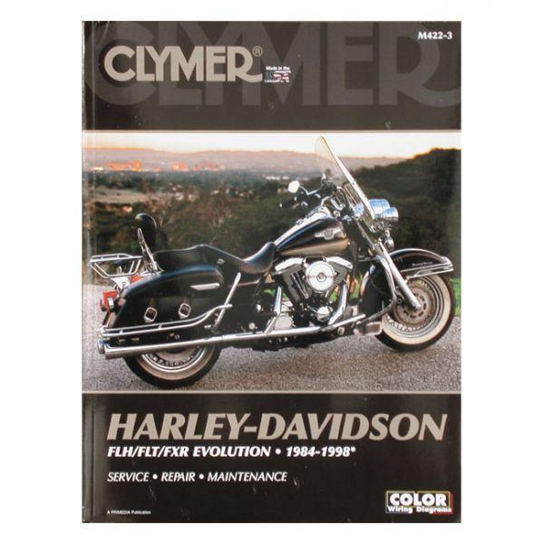 CLYMER SERVICE MANUAL 84-98 FLT, FXR.