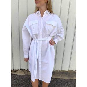 HalioGZ Shirt Dress - Bright White