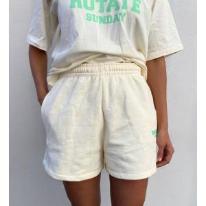 Roda Shorts Small Print - White