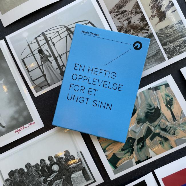 Postkortsamling - En heftig opplevelse for et ungt sinn