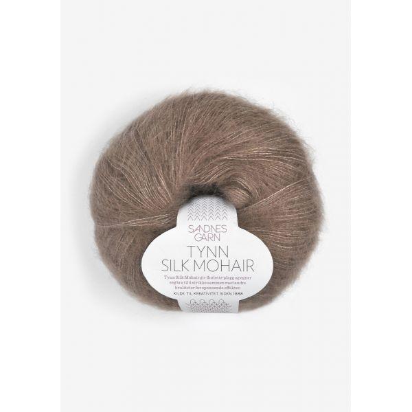 Tynn Silk Mohair 3161 Eikenøtt - Sandnes Garn