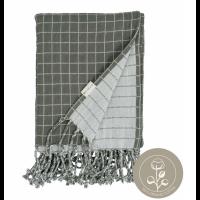 Baby blanket - Grid - Olive