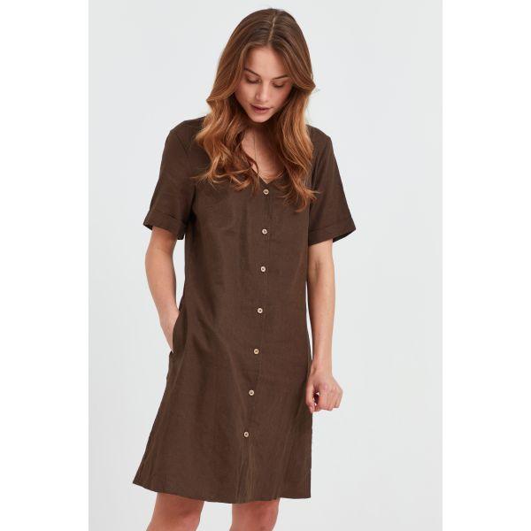 PZBIANCA brown Dress
