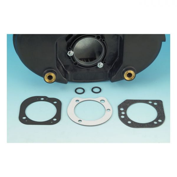 JAMES, AIRCLEANER BACKPLATE GASKET KIT. 06-08 SOFTAIL; 06-07(NU)TOURING