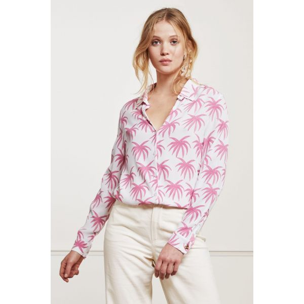 Lily Coco Blouse Palms