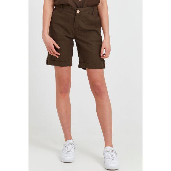 PZBIANCA brown Shorts
