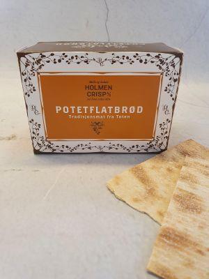 Et potetflatbrød