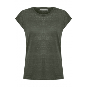 Faylinn O T-Shirt Green