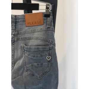 Please jeans- Skinny plain - light denim