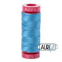 Aurifil 12 WT blå-turkis