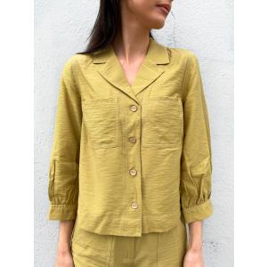 Leno 3/4 Shirt - Khaki