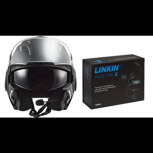 LS2 FF900 Valiant 2 Noir Matt Black W/LRP III