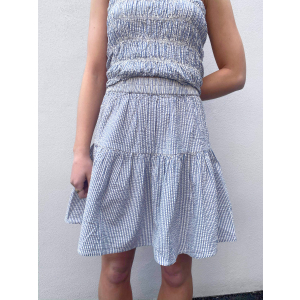 Cama Skirt - Dusk Blue
