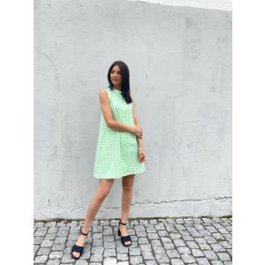 Elliers Dress - Pastel Green