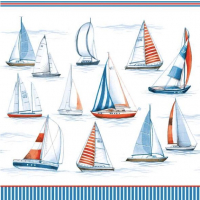 """Sailing"" lunsjserviett"