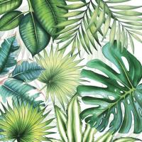 """Tropical Leaves"" lunsjserviett"
