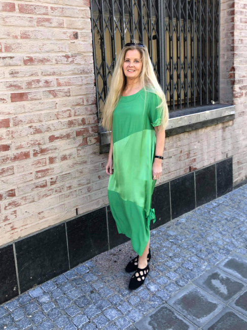 Eleonora Amadei Kjole - Grønn