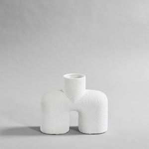 101 Copenhagen Vase - Cobra Lav Hvit