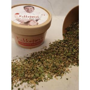 KJ Focaccia-krydder uten salt