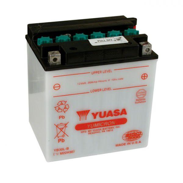 YUASA BATTERY YUMICRON 12V, 30A  97-20 FLT/Touring; 09-20 Trikes