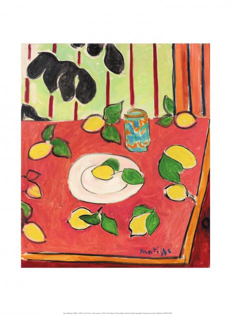 Henri Matisse: Sitroner (Les Citrons)