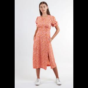 Yoko Jasmine Print Tea Dress