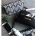 Cosmetic Bag Black/Cream Phoenix