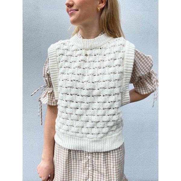 Cotton Knit Vest - Vintage