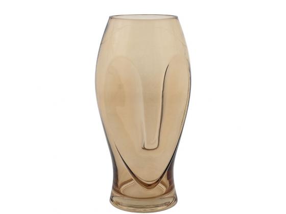 Vase Cara Amber