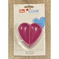 """Magnet nålepute - """"Love"""" hjerte"""