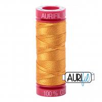 Aurifil 12 WT oransje-sennep