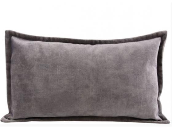 "Putetrekk  ""Alegra"" 30x50cm lys grå"
