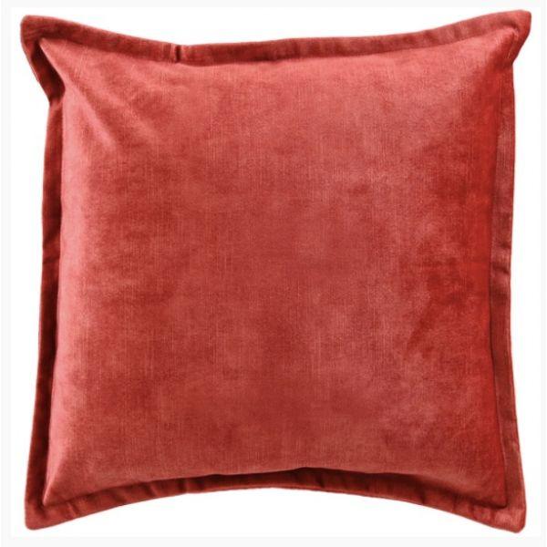 "Putetrekk ""Alegra"" 50x50cm rød"